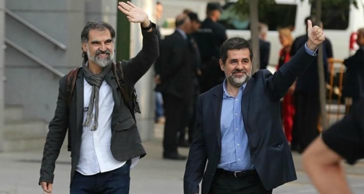 Els Jordis compleixen tres anys de presó entre mostres de solidaritat nacionals i peticions de llibertat internacionals