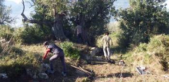 Els arqueòlegs inicien els treballs de rehabilitació al jaciment des Puig den Canals