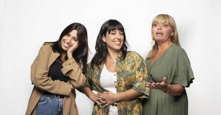 IB3 estrena 'Ningú és perfecte', un programa d'actualitat en clau d'humor de la mà de Sabina Pons, Noemí Garcíes i Mar Coll