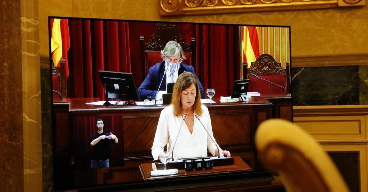 Les reaccions polítiques al discurs d'Armengol en el Debat de Política General