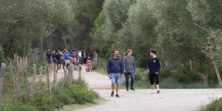 El GOB alerta sobre la «degradació ambiental» davant l'increment de gent en els espais naturals