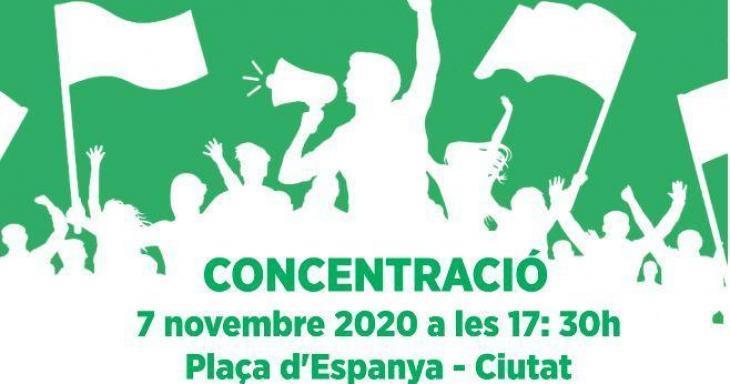 Convoquen una concentració en defensa dels serveis públics a Palma