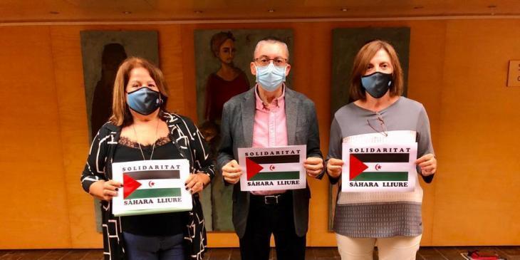 Més per Menorca reivindica en el Consell «tot el suport» al poble sahrauí