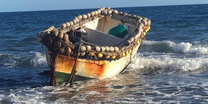 Arriba una barca amb cinc persones migrants a Cala d'Or