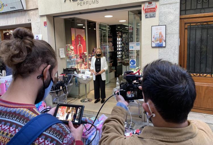 Enllestit el rodatge de l'espot publicitari del comerç solleric