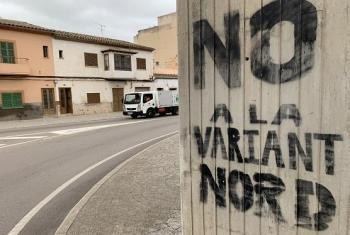 [VÍDEO] La Plataforma No a la Variant Nord d'Inca carrega contra el Consell i reclama una mobilitat més sostenible