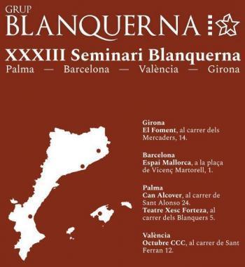 El Seminari Blanquerna comença aquest divendres amb la participació de Carles Puigdemont