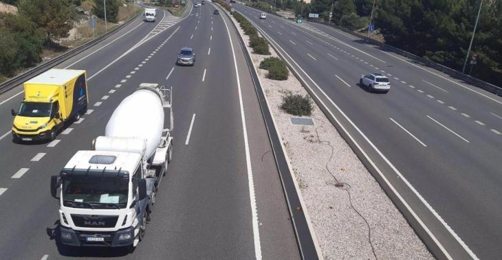 La Federación de Transportes reclama suspender la reducción de velocidad a 80 km/h en la Vía de Cintura