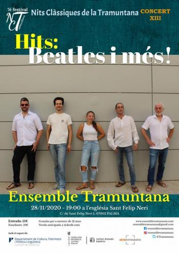 'Hits: Beatles i més!' a Palma, darrer concert del 7è festival Nits Clàssiques de la Tramuntana