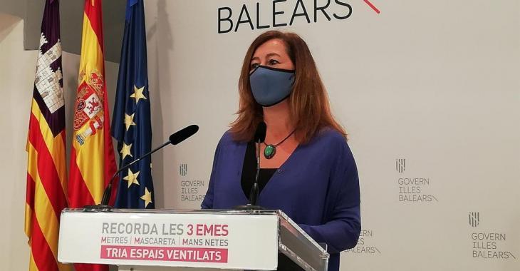 Les Balears aplicaran des d'aquest dissabte un sistema de cinc nivells d'alerta que determinarà les restriccions