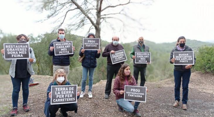 Cinc entitats socials i ecologistes alerten d'un nou 'boom' de graveres a Mallorca