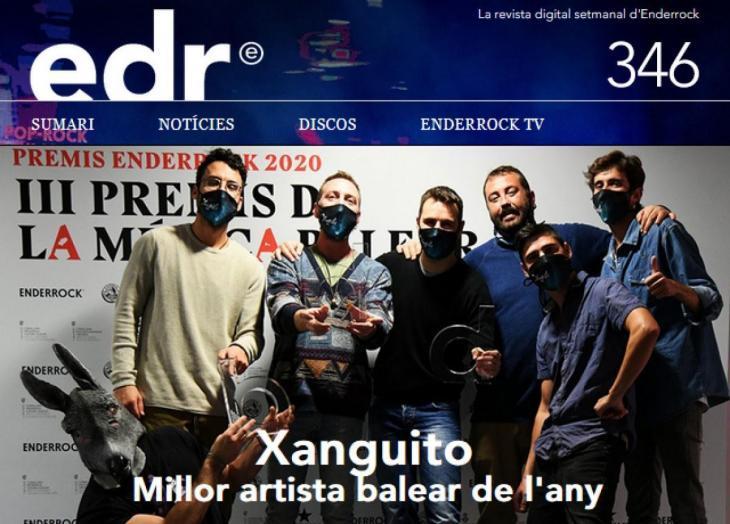Enderrock dedica la seva portada a Xanguito