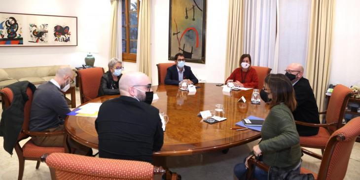 El Fòrum de la Societat Civil es reuneix amb la presidenta del Govern