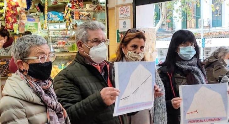 Veïnats de Pere Garau presenten un conjunt de propostes de millora pel barri