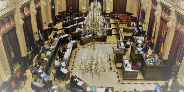 Els pressuposts per a 2021 sumen un total de 5.881,5 milions d'euros