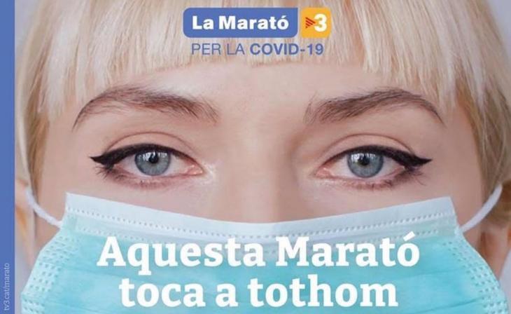 TV3 celebra aquest diumenge La Marató dedicada enguany a la Covid-19