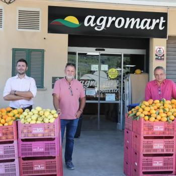 La Cooperativa i Agromart col·laboren per distribuir els cítrics sollerics